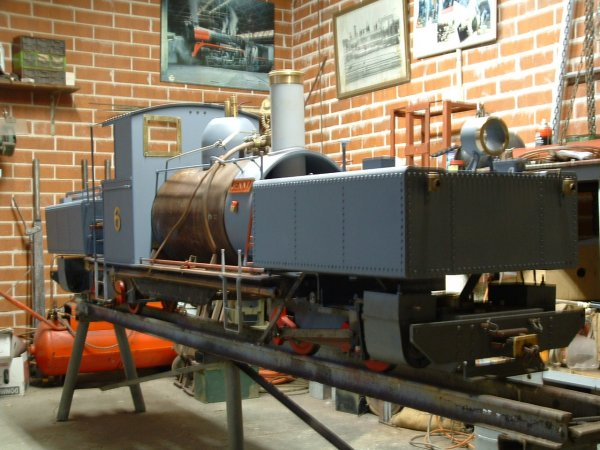 Miniature Garratt Locomotives