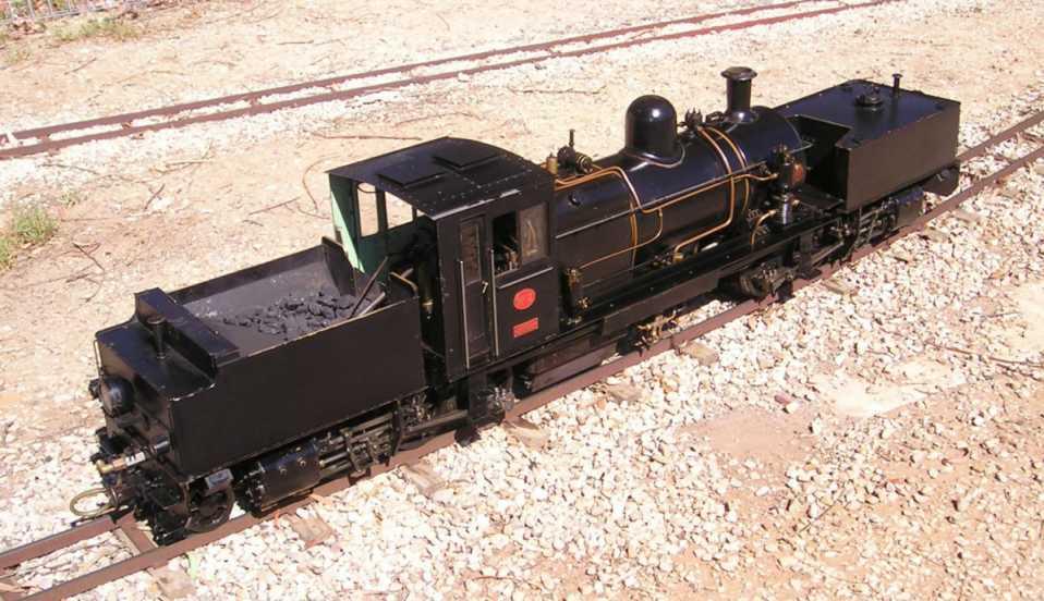 Miniature Garratt Locomotives