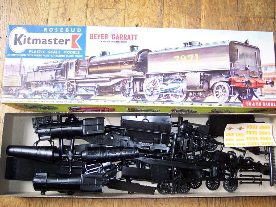 Commercial Model Garratt Locomotives