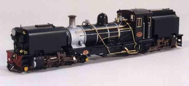 Commercial Model Garratt Locomotives